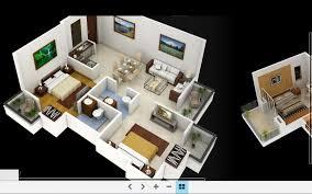 attractive inspiration 2 home design 3d plan de maison 3d floor