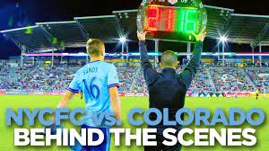Fc Dallas Field Map by Behind The Scenes Nycfc At Colorado New York City Fc