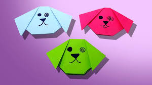 how to make a origami dog easy and simple steps for kids youtube