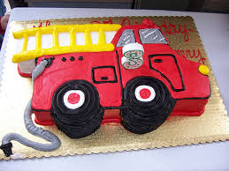 firetruck cakes truck birthday cake ideas image result for