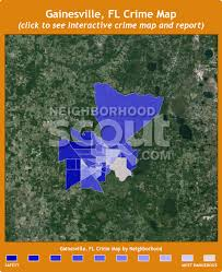 gainesville map gainesville fl crime rates and statistics neighborhoodscout