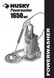 washer husky 1800 psi pressure washer with gun and extra wand 2