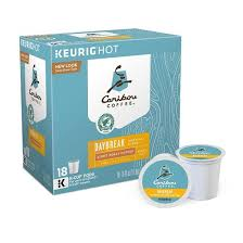 Best Light Roast Coffee Caribou Coffee Daybreak Morning Blend Light Roast Coffee K Cup