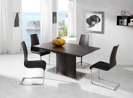 Modern Granite Dining Table by Classy Wall Paint In Modern Dining Room Chair With Big Table Plus