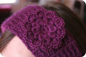 flowers for headbands crochet pattern headband women hat pdf pretty flower the cristina