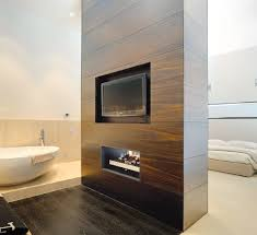 double sided gas fireplace binhminh decoration