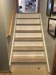 flooring vinyl plank stair treads vinyl flooring resilient flooring
