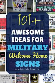 Welcome Home Banners Printable by 101 Awesome Ideas For Military Welcome Home Signs