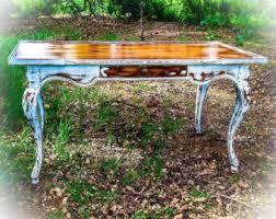 Antique Entryway Table Antique Desk Etsy