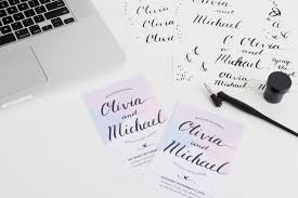 create invitations how to create unique invitations with calligraphy and illustrator