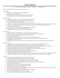 Steve Jobs Resume Steve Migotti Resume 2016 V2