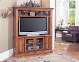 Entertainment Centers The Deer Creek Plasma  LCD Corner - Corner cabinets for plasma tv