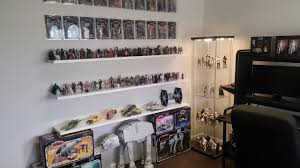 star wars collection room tour march 2017 youtube