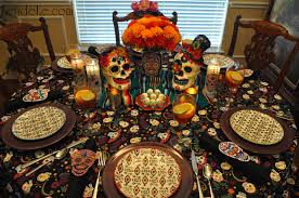 dia de los muertos day of the dead themed halloween dinner party