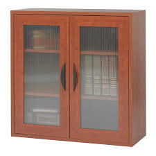 Bookcase Modular Modular 3 Shelf Bookcase With See Thru Doors Ultimate Office