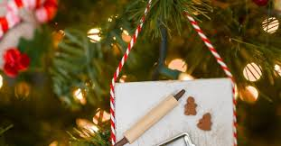 Baking Christmas Tree Decorations by Miniature Gingerbread Baking Scene Christmas Ornament Hometalk