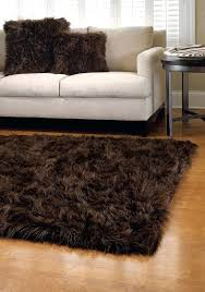 Fur Area Rug 40 60 Area Rugs Faux Fur Coyote Wolf Skin Plush Faux Animal Skin