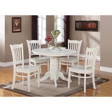 20 white wood round dining table nyfarms info