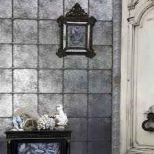 Mirror That Looks Like Window by Kings Mirror Wallpaper From Cole U0026 Son Replicates The Distressed
