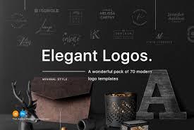 design logo elegant 70 elegant logo templates graphics youworkforthem