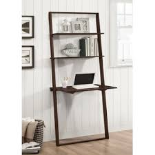 Leaning Ladder Desk by Quattro Leaning Ladder Desk All Bookcases Wayfair