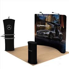 portable photo booth 10 portable fabric curved tradeshow displays pop up stand banner
