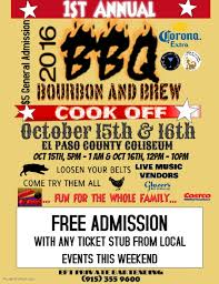 bbq tickets template bbq cook template postermywall