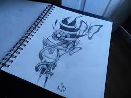 torn butterfly side design wip by xxmariagoesbrawrxx on