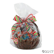 where to buy cellophane wrap for gift baskets clear cellophane gift basket bags