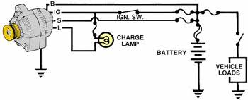 wiring wiring diagram for delco alternator the delco 10 si and 12