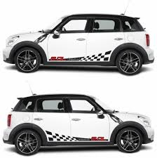mini cooper modified mini cooper r60 stripes sticker infinity270