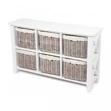large white storage cabinet white large storage wicker basket unit cotton lined buy low