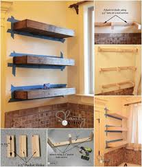 Design Your Own Bookcase Online Best 25 Wooden Floating Shelves Ideas On Pinterest Wood