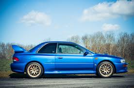 subaru rsti widebody rare 1998 subaru impreza sti 22b heads to auction automobile