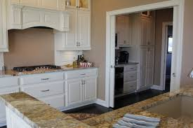 custom designed cabinet and countertop for the kitchen