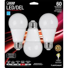 Led Light Bulbs Lowes Lowe U0027s Canada Deal 3 Pack Feit Led Bulbs Only 1 99 After
