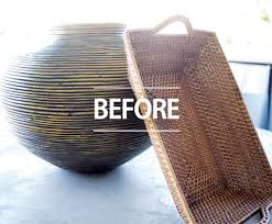 how to make a dramatic change with a graphic basket trendy