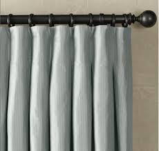 Pinch Pleat Patio Door Panel Restoration Hardware Thai Silk Inverted Pleat Drapery Panel Love