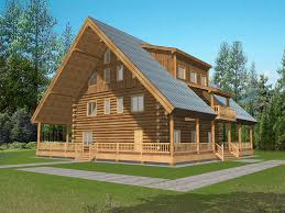 Luxury Log Cabin Floor Plans King Cove Luxury Log Cabin Home Plan 088d 0057 House Plans And More