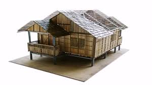 simple bamboo house design philippines youtube