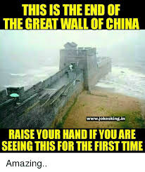 This Is The End Meme - 25 best memes about great wall of china great wall of china