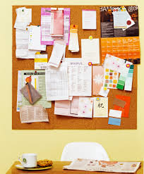 Home Office Design Board by Office Bulletin Board Design Ideas
