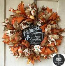 ribbon wreaths fall burlap monogram wreath burlap wreaths painted