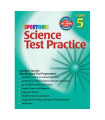 science test practice workbook grade 5 carson dellosa publishing
