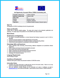 Word Processing Skills For Resume Resume For Correctional Officer Position Free Resume Example And