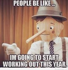 New Years Gym Meme - new year 2016 funny resolutions quotes cartoons