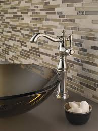 Bathroom Delta Cassidy Faucet High by Delta Faucet 797lf Rb Cassidy Single Hole Single Handle With Riser