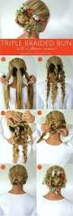 Easy Hairstyles For Medium Straight Hair by Best 25 Easy Hairstyles Tutorials Ideas On Pinterest Easy Updo