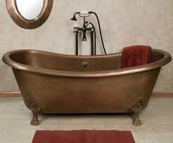 Clawfoot Tubs And Clawfoot Tub Faucets For Your Dream Bathroom Josette Copper Double Slipper Clawfoot Tub Bathrooms Pinterest
