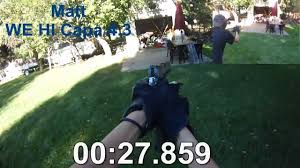 backyard airsoft pistol training course youtube